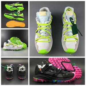 Devam Sporcuya kapalı 2019 Yeni arriv Yakınlaştırma Terra Kiger 5 WMNS Beyaz Yeşil Siyah Mor Erkekler Kadınlar Ayakkabı Koşu x