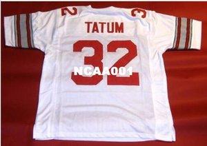 Men # 32 JACK TATUM CUSTOM COLLEGE STYLE Maglia college retrò taglia s-4XL o personalizzata qualsiasi nome o numero maglia
