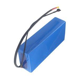 Kostenloser versand 60v elektro-roller akku wiederaufladbare batterien pack für 500 watt bis 2000 watt motor mit ladegerät