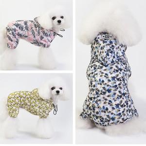 19 primavera e l'estate nuovo impermeabile a quattro zampe impermeabile impermeabile traspirante piccolo cane medio cane spot all'ingrosso