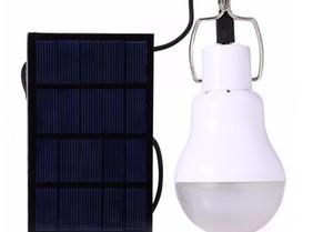 Lampadina a led portatile Lampadina solare Energia solare Lampada da giardino LED Illuminazione Solar Panel Light Outdoor Camping Bulb