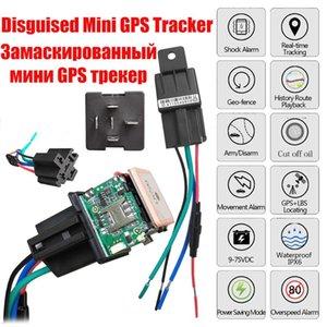 CJ720 Relé GPS Tracker Car Alarm GPS GSM Locator Tracking Tool Remote Control Anti-roubo Monitoramento cortou a energia Oil