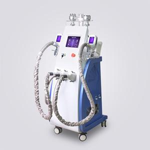 3 cryo plus récent poignée cryolipolysis cryothérapie 800W sous vide à ultrasons graisse laser de perte de poids lipo gel formant la machine de beauté de cavitation