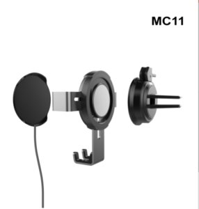 Magnetic Phone Mount IN-Car Wireless Charging Phone Mount Qi Fast Charging Car Mount Wholesale Free Shipping