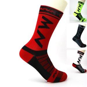 Мужские и открытые велосипедные носки быстросохнущих женских работают альпинизм спортивных тренировки носков баскетбол футбол волейбол носков