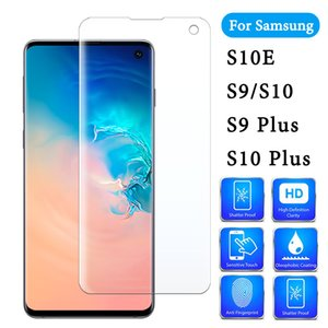 9D Full cover edge Curved glass screen protector for Samsung Galaxy S10 Plus for Samsung S9 Plus Glass S8 Note 8 9 10 S10E film