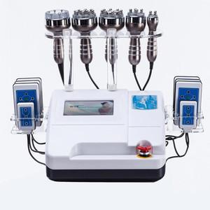 6 IN 1 Ultraschall Kavitation Maschine 40K Ultraschall Kavitation Lipolaser RF Vaccum Abnehmen Body Weight Loss Cavi Lipo Contouring DHL
