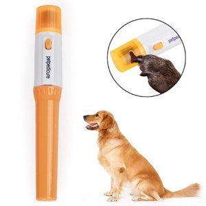 Pet Cat Dog Nail Grooming Grinder Trimmer Clipper Portable Electric Painless Dog Nail Clipper File Kit Pet Paw Grooming Tools