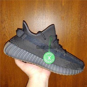 O transporte da gota Luz Traseira de Kanye West Running Shoes Terra Desert Sábio Cinder Homens Mulheres Esporte Sapata Running com Box