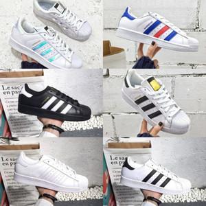 2019 adidas superstar Shoes New superstars 2020 Cheap New Gold Noir Blanc Hologram junior originaux des années 80 Fierté Sneakers Super Star Femmes Hommes Chaussures