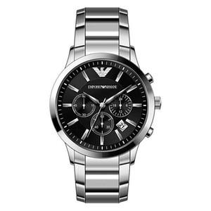 New Drop shipping AR2448 AR2453 AR2434 AR2458 Montre inoxydable montres à quartz en acier chronographe Homme Mode Montre-bracelet