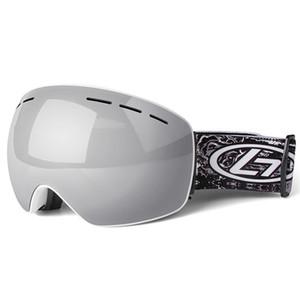 Ski Goggles Mask Double Layers Big Uv400 Anti-fog Ski Glasses Skiing Men Women Snow Snowboard Goggles Sportswear & Accessories 2 YMAV