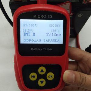 Neueste LANCOL Motorrad Autobatterie Last 300 CCA-Tester / Leitwert-Tester Analyzer Micro-30