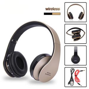 Kablosuz Kulaklık Bluetooth Müzik Kulaklık Stereo Mikrofon Oyun Şarjlı AURICULARES Audifonos ile katlanabilir spor Kulaklık