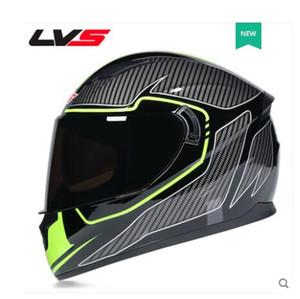 LVS motosiklet kask tam kask çalışan kask kişilik tam kapak motosiklet erkek ve dört mevsim evrensel kadınları soğutmak