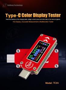 50pcs al por mayor USB Tester DC Voltímetro digital Amperimetro Medidor de voltaje de corriente Amp Volt Amperímetro Detector Power Bank PC Cargador Monitor