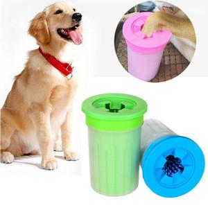 Portátil Cup Pet Dog Cat pé Cleaner Pés Washer cão Brushes filhote de cachorro escova de limpeza da pata do animal de estimação Mud Cleaner Buster Washer Mud
