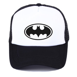 2019 년 봄 경이의 영웅 배트맨 성격 야구 모자 그물 모자 모자 여성 패션 숨 모자 패션 거리 힙합