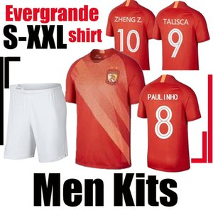 Thai 19 20 Guangzhou Evergrande jersey home soccer jerseys 19 20 Top Alan PAULINHO GOULART Ricardo Nemanja Gudelj football shirts