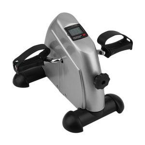 Startseite Exerciser Radfahren Fitness Mini Pedal Übungs-Fahrrad LCD-Display Indoor Cycling Bike Stepper für ältere Junge Lose Weight