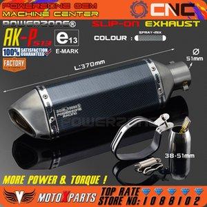 Modifiziertes Motorrad AK-P513 Auspuff Universal Schalldämpfer Für CB CRB YZFR EXC SXF R6 ZX-6R ZX-10R GSXR Scooter ATV