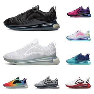 nike air max 720 Triple negro hombres mujeres zapatos para correr blanco Sea Forest Cool grey sunset GYM RED Northern Lights Night zapatillas de deporte de moda para hombre
