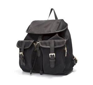 Atacado clássico mochila pára-quedas tecido de nylon impermeável mochila novas senhoras mochila de armazenamento mochila de viagem da moda