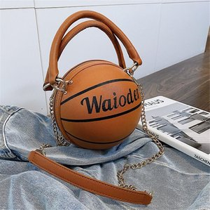 Women'S Basketball Handbag 2020 New High-Quality Pu Leather Women Tote Bag Patent Leather Shell Bag Simple Stitching Shoulder Bag #58754