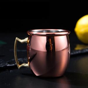 60 мл Москва мини стеклянная рюмка кружки из нержавеющей стали коктейльная чашка Москва мул чашка мини вино пиво маленькая медная чашка 50шт LJJA2456