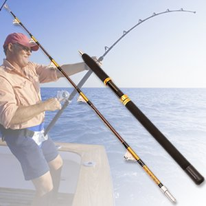 50-100lb Heave Strong Boot 1.8m 2Sections Trolling Angel Big Game Saltwater Jigging Rod