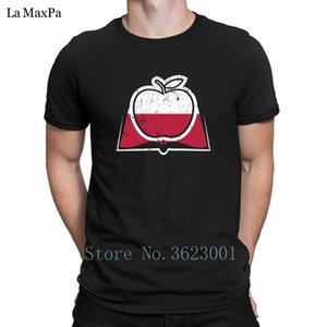 Normal T Shirt For Men 2018 Polish Teacher Appreciation Poland Flag T-Shirt Man Great Fun Tshirt Round Neck Tee Shirt Fit