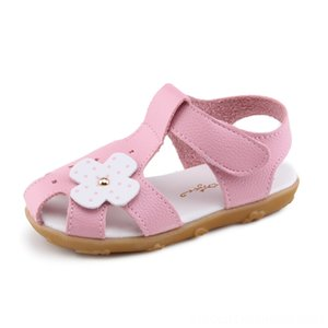2020 Summer Girls Kids For Little Girls Childrens Sandals Shoes Beach Shoes Floral Flower Sandals Sweet Comfortable Fashion New