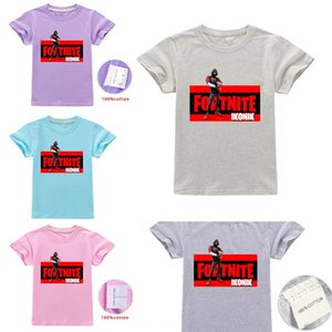 T9TXi Cada día ong Xu Children'snie coon T-Shir Fortnite ropa A1286 Cada dayfor tong t camiseta de los niños del algodón Xu Children'stnite fo