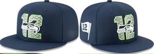 Новое прибытие топ Продажа сотый сезон Сиэтл Baseball Встроенные Шляпы мужские, спорт Hip Hop Монтажн Caps Для женщин, Мода Хлопок Повседневная шапки