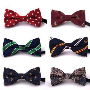 Enfants Enfants Pré Tied Fête de mariage Bow Tie Filles Garçons formelle Tuxedo satin Bowtie cravate colorée de Noël bébé cadeau KFJ719