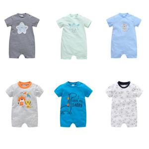 Honeyzone estate vestiti del bambino appena nato del bambino pagliaccetto Disfraz manica corta Tutina Roupa Menina Cartoon Stampa 0-12m