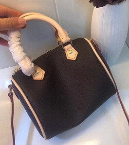 Marca de moda mulheres mini saco de couro real nano16cm saco de ombro rápida sacos crossbody saco de balde design de impressão clássico bolsa de todos os jogo