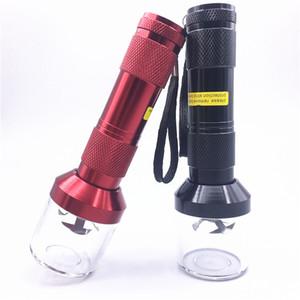 estilo linterna eléctrica creativa Grinder Grinders de tabaco para fumar dientes totalmente automáticas Muller Tabaco Grinder