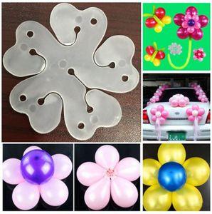 20pcs / Lot Fleur Ballons Décoration Accessoires Prune Clip Pratique Anniversaire Fête De Mariage En Plastique Clip Globos Ballon