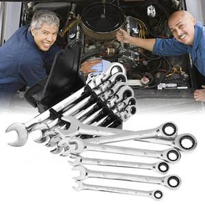 6 Stücke Zwei Kopf Aktivitäten Ratsche Zahnräder Schraubenschlüssel Set Flexible Gabelschlüssel Repair Tools Zu Bike Drehmomentschlüssel Schraubenschlüssel