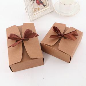 200pcs Kraftpapier Schneeflocke Verpackungskarton Eigelb Nougat Verpackung Geschenk-Box Backen Blätterteig Eigelb Gebäck Kuchen Box benutzerdefinierte DHL