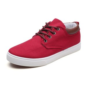 Casual Skate Shoes Wholesale Mens Fashion 2019 Canva Platform Comfortable Shoes for Outdoor Walking