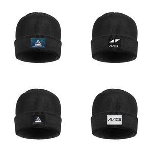 Moda RIP Avicii Tim Bergling Eu amo house music Inverno Ski Assista Hat Beanie Unisex Chapéus dj-aviciies aviciies Avicii Stories músico