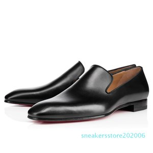 Gentleman Party Wedding Dress Dandelion Oxfords Flat Mens Business Slip On Red Bottom Man Loafer Luxury Designer Shoes Size 35-46 06s