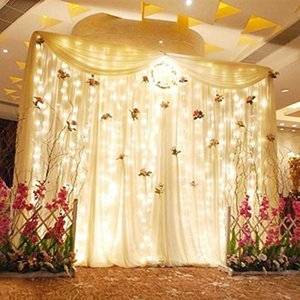 3mx3m led Icicle Curtain Fairy String light 300 Led Christmas Light For Wedding Indoor Outdoor Christmas Garden Party Decoration
