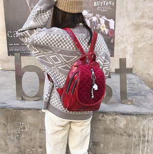 Women backpack large capacity Chest bag Classical Sequin Shoulder Bag female