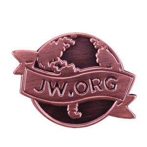 Jw.org Stifte Vintage Karte Abzeichen Jehovas Zeugen Brosche Christian Taufe Geschenk coole Jacke Zubehör