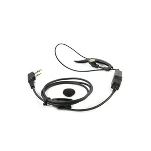 PTT Mic Ear-hook Earphone K Headset para Baofeng BF-888S UV-5R BF-H8 Walkie Talkie Accesorios de la mejor calidad