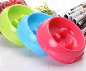 Собака миски Нерж.сталь пищи и воды собаки фидера шара собаки любимчика шара три конфеты цвет воды шар 2 цвета