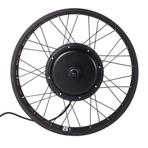 ruota di grasso bici elettrica 48V 750W 1000W 1500W 20 24 26inch EBike posteriore della parte anteriore della neve Wheel Motor
